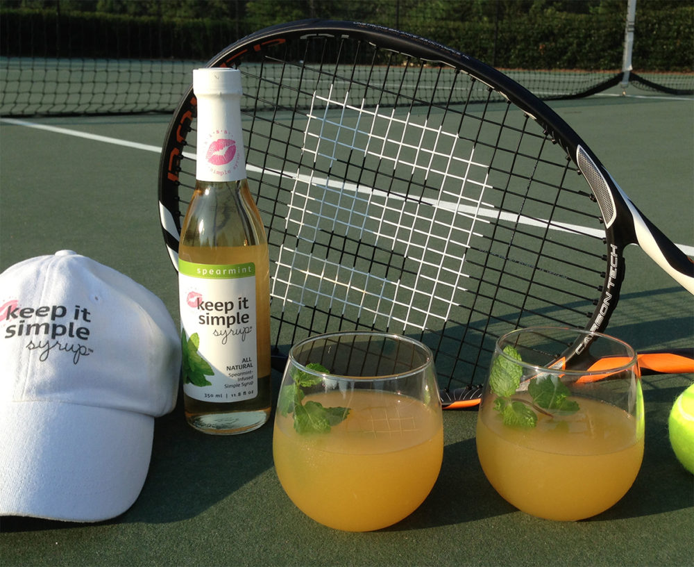 apricot mint sour prosecco is the perfect complement to apricot ...